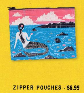 Zipper Pouches - $6.99