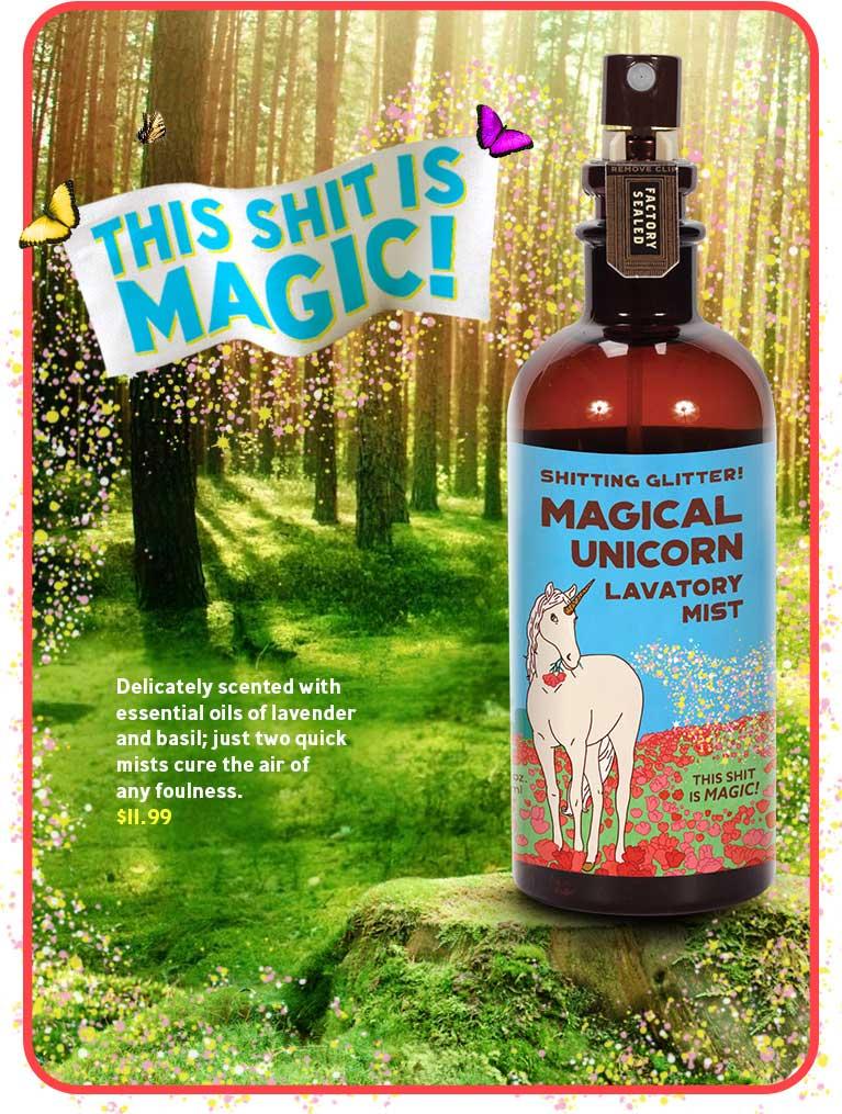 New Magical Unicorn, Lavatory Mist!