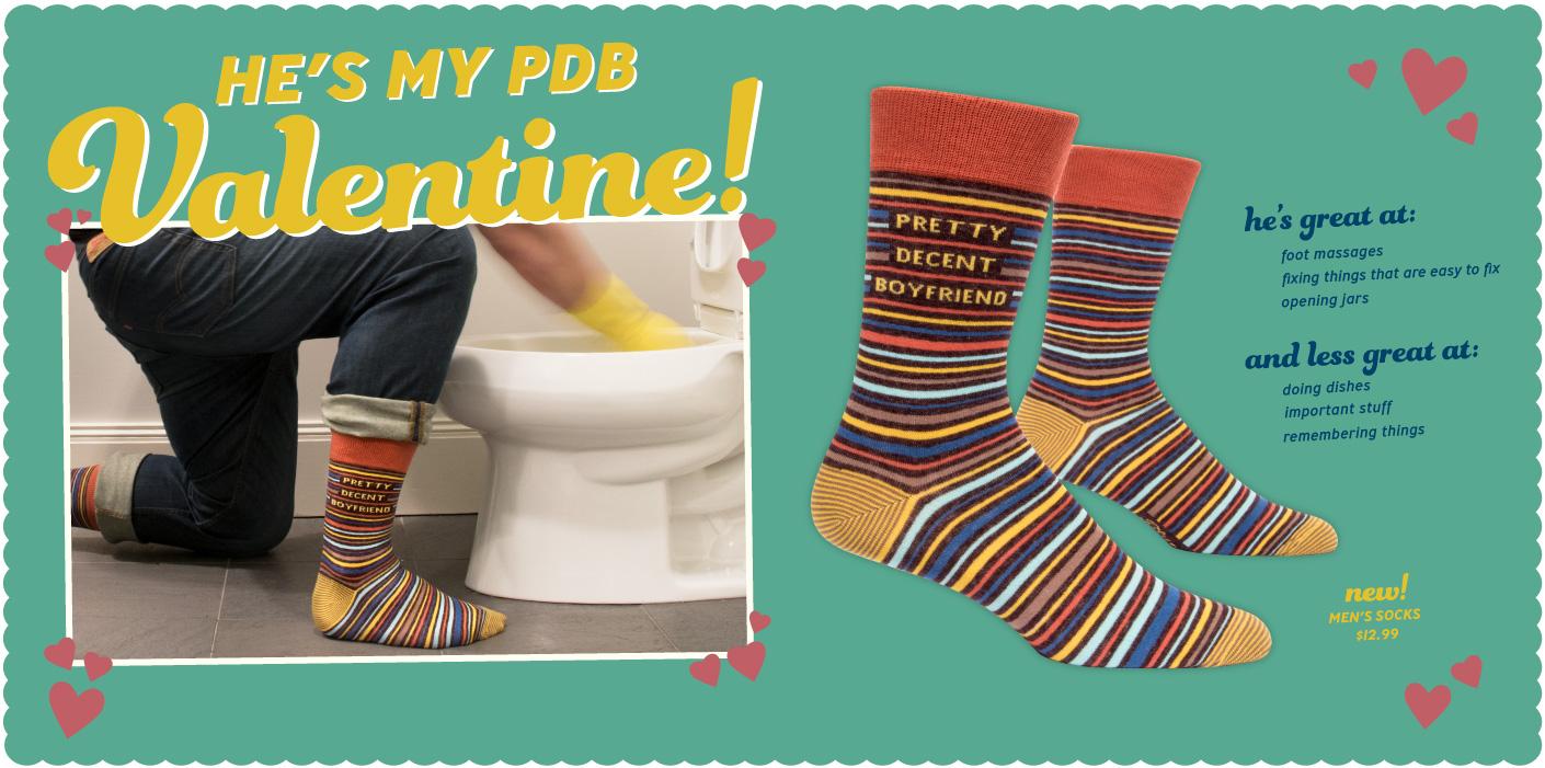 New Pretty Decent  Women's Crew Sock!