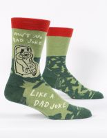 Ain't No Bad Joke Like A Dad Joke M-Crew Socks