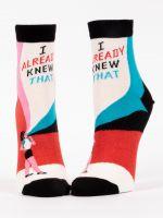 I Already Knew That W-Ankle Socks