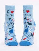 I Heart Crying W- Ankle Socks