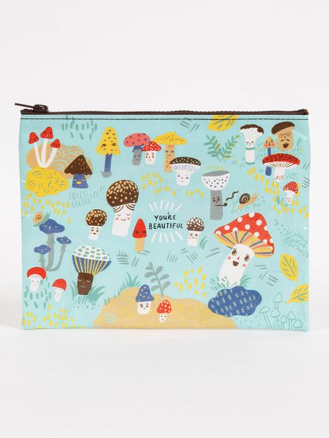 Cute Lil Mishrooms Zipper Pouch
