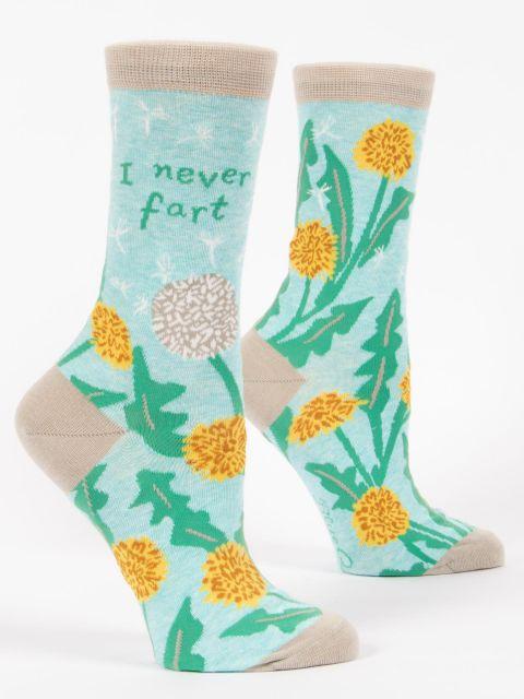 I Never Fart W-Crew Socks