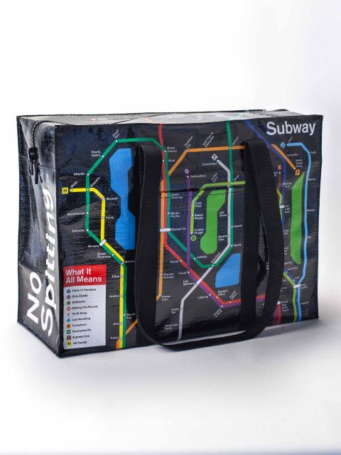 Subway Shoulder Tote