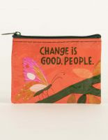 Change Is Good, People. Coin Purse