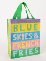 Blue Skies & French Fries Handy Tote