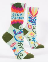Stop Talking W-Crew Socks
