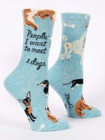 People I Want To Meet: Dogs W-Crew Socks