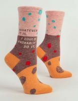 Whatever It Is, I Could Probably Do It. W-Crew Socks