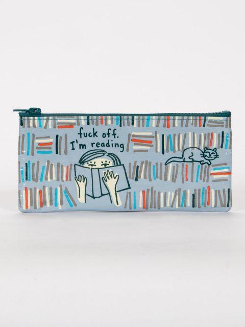 Fuck Off, I'm Reading Pencil Case