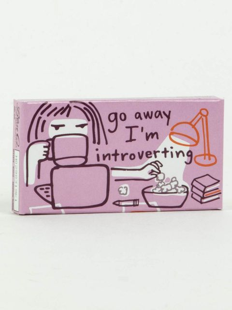 Go Away I'm Introverting Gum