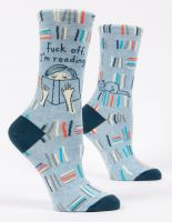 Fuck Off, I'm Reading W-Crew Socks