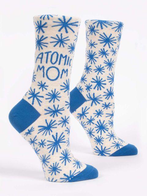 Atomic Mom W-Crew Socks