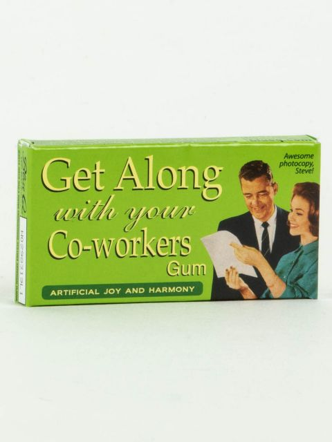 Get Along With Your CoWorkers Gum