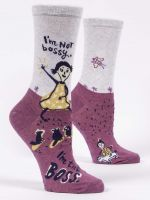 I'm Not Bossy, I'm The Boss W-Crew Socks