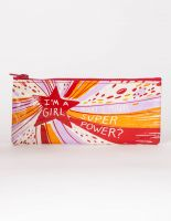 I'm A Girl, What's Your Superpower? Pencil Case