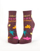I Have Mood Swings W-Ankle Socks