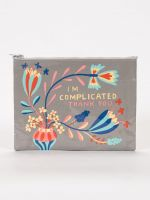 I'm Complicated. Thank You Zipper Pouch