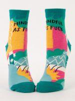 Mindful As Fuck W-Ankle Socks