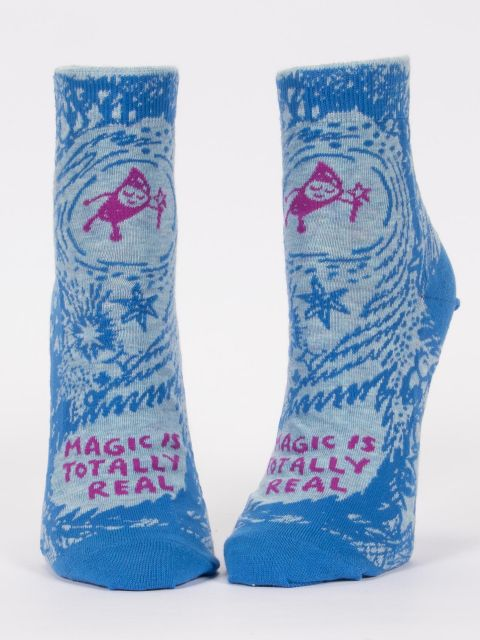 Magic Is Totally Real W-Ankle Socks