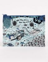 Oh! The Places This Bag Will Go! Zipper Pouch