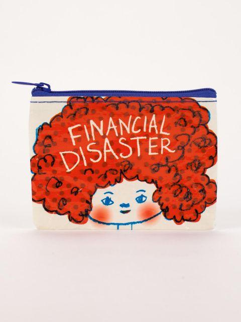 Financial Disaster Coin Purse