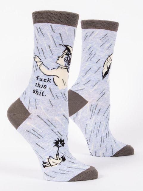 Fuck This Shit W-Crew Socks