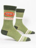 Adult In Training Men's Crew Sock - SECOND